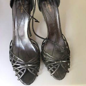 SOLD Kate Spade Silver Sandals size 10